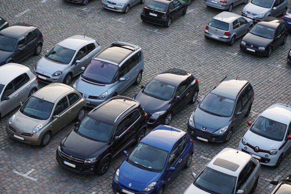 Aktuelle Parkplatzsituation